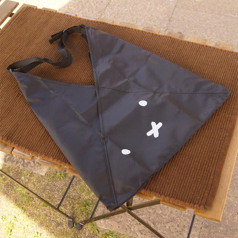 [1719] あづま袋型折り畳みトート A-BAG vol.2 ブラック ミッフィーフェイス [miffy][Dick Bruna]