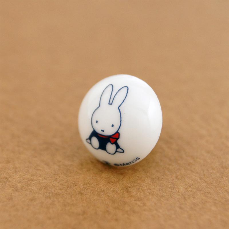銀座天賞堂 ミッフィー 有田焼ピンブローチセット 65th ダッチモチーフ [Ginza Tenshodo][miffy]