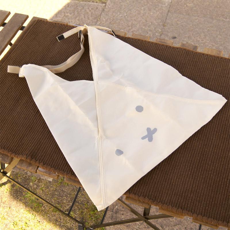 [1696] あづま袋型折り畳みトート A-BAG vol.2 ホワイト ミッフィーフェイス [miffy][Dick Bruna]