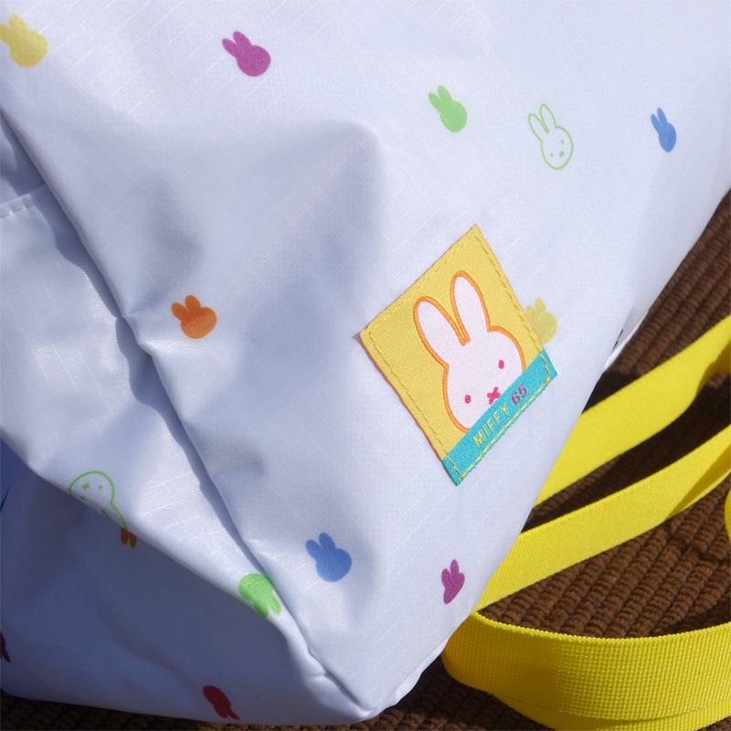 [BN1063WH-4] ミッフィー 65周年 パッカブルボストンバッグ [miffy]