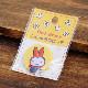 [D02B1275] Dick Bruna 刺繍ブローチ ミッフィーゆきのひ [miffy][Dick Bruna]