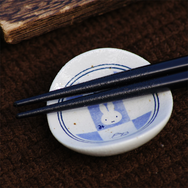 [201565] ミッフィー 和食器・市松 箸置き [miffy]