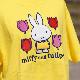 [MF-6336] 半袖Tシャツ ミッフィーチューリップ イエロー [miffy][Dick Bruna]