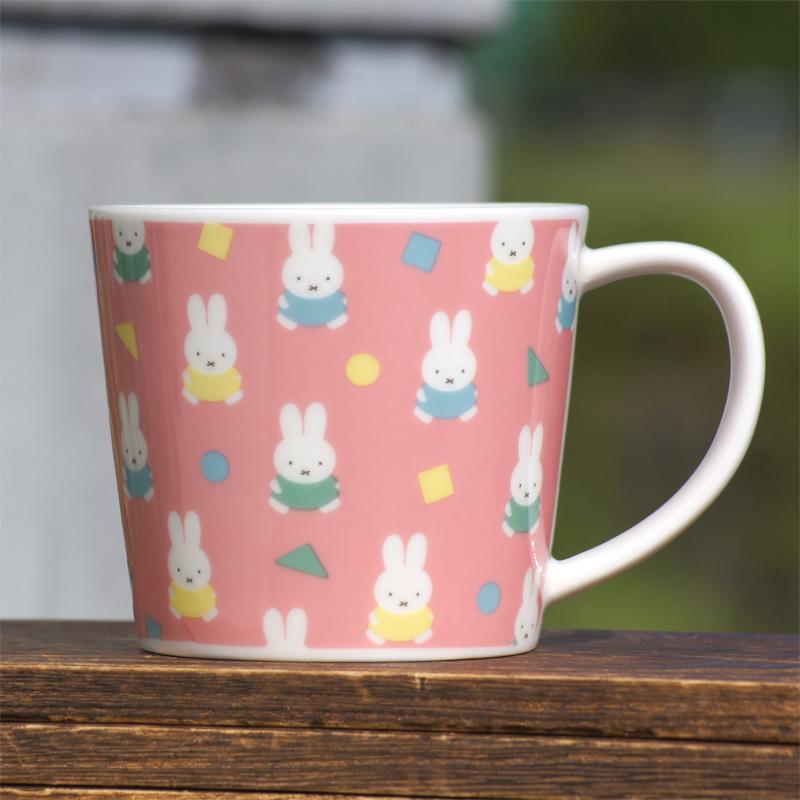 [403117] マグカップ ピンク ミッフィー オータムカラー [miffy][Dick Bruna]