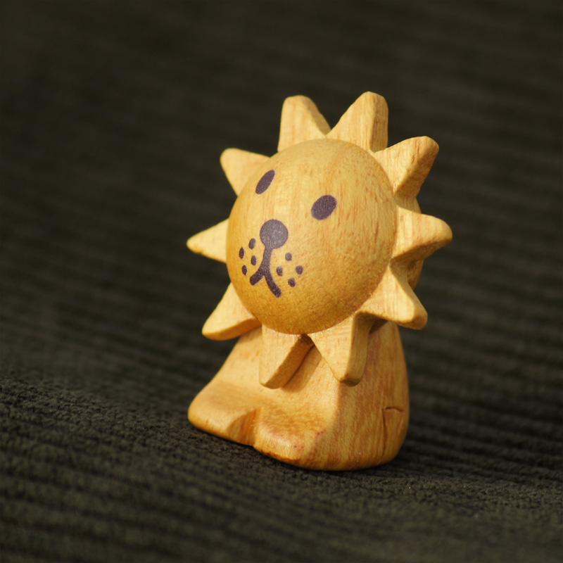 [208575] ブルーナ・アニマル 木製箸置き らいおん [miffy][Dick Bruna]
