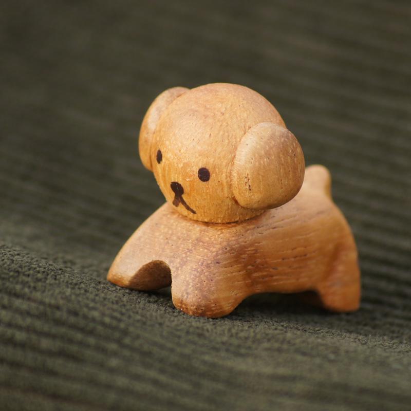 [208574] ブルーナ・アニマル 木製箸置き スナッフィー [miffy][Dick Bruna]