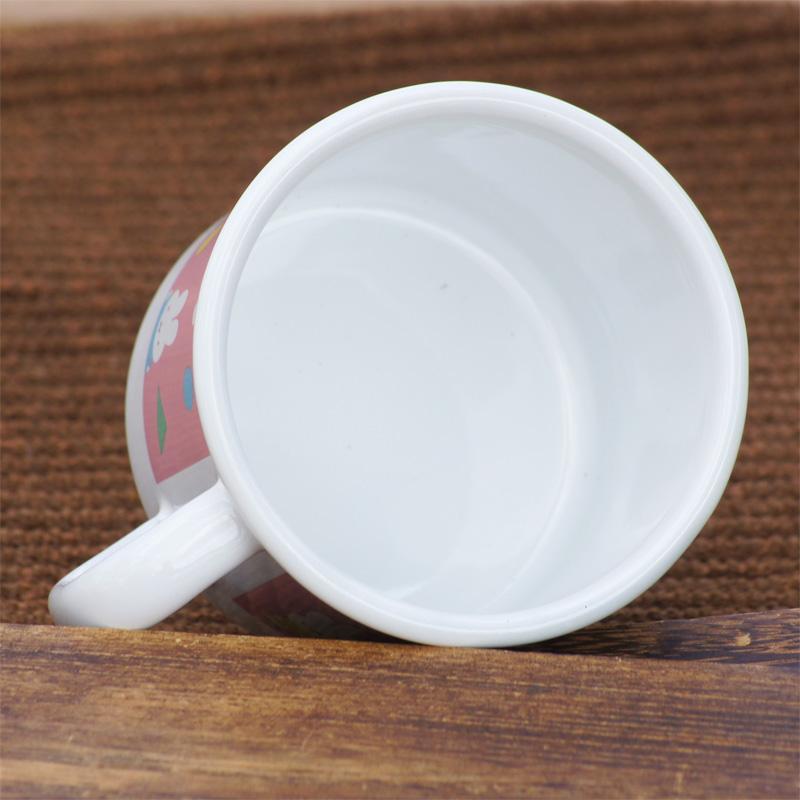 [MF21-7MG.P] ミッフィー 7cmマグカップ オータムカラー ピンク [miffy][Dick Bruna][琺瑯]