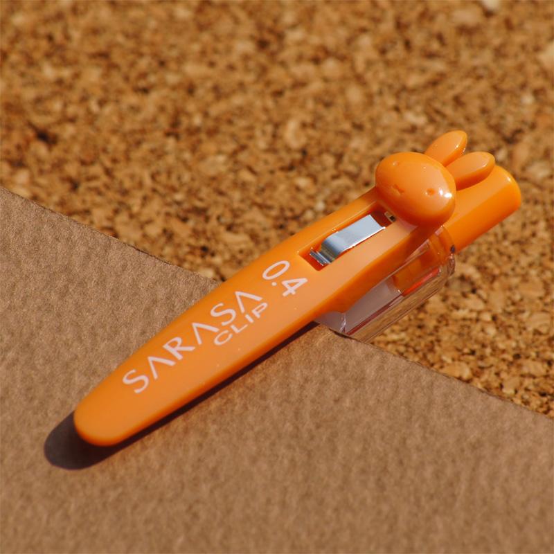 [EB199OR] ミッフィー×サラサクリップ ボールペン 0.4mm オレンジ [miffy][Dick Bruna][SARASA CLIP]