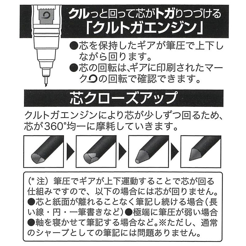 [EB198B] ミッフィー×クルトガ シャープペンB 0.5mm アニマル [miffy][Dick Bruna][KURU TOGA]