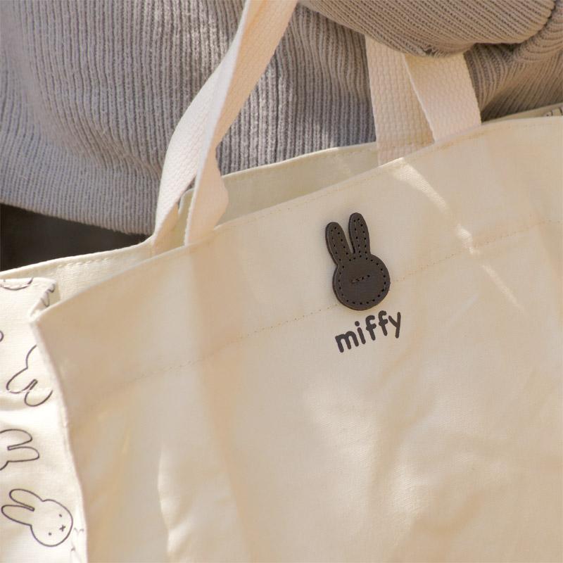 [EB252] 折り畳みミニトートバッグ ミッフィー フェイス [miffy][Dick Bruna]