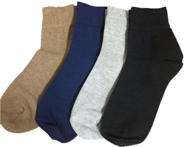 「ショート・ベーシックソックス」炭ソックスTan-Tan 【炭の靴下】[男性、女性] ■ SUMI yarn®