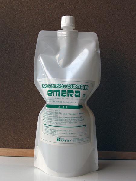 エコ洗剤 多目的洗浄剤 emaRa エマラ 詰め替え用1L ■エヌジェイ