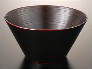 漆器 ボウル 多用椀シリーズ 欅6.0多用椀 (純漆塗) <食洗機対応> ■なちや