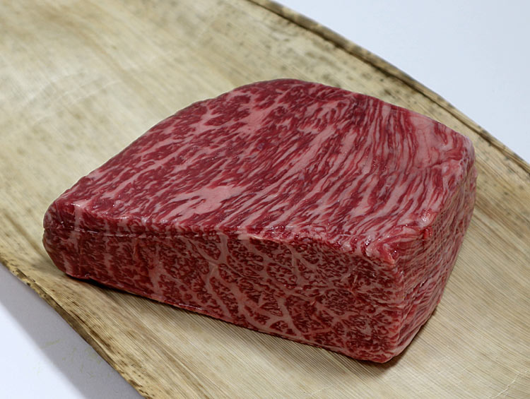 黒毛和牛 外平(外モモ) 400g  【ローストビーフ用 ブロック】  ■なんば屋精肉店