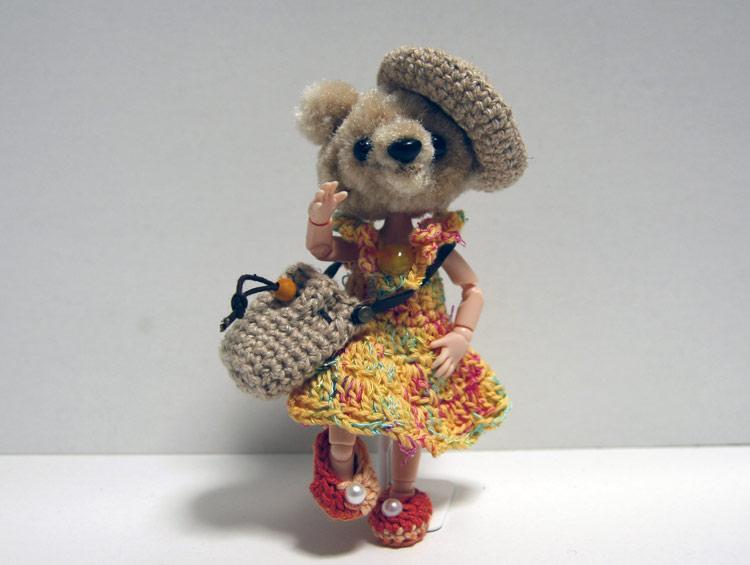 ピッケポッケプランタ ドールのお洋服と小物たち (4点セットC) ■かどぴょんマーケット