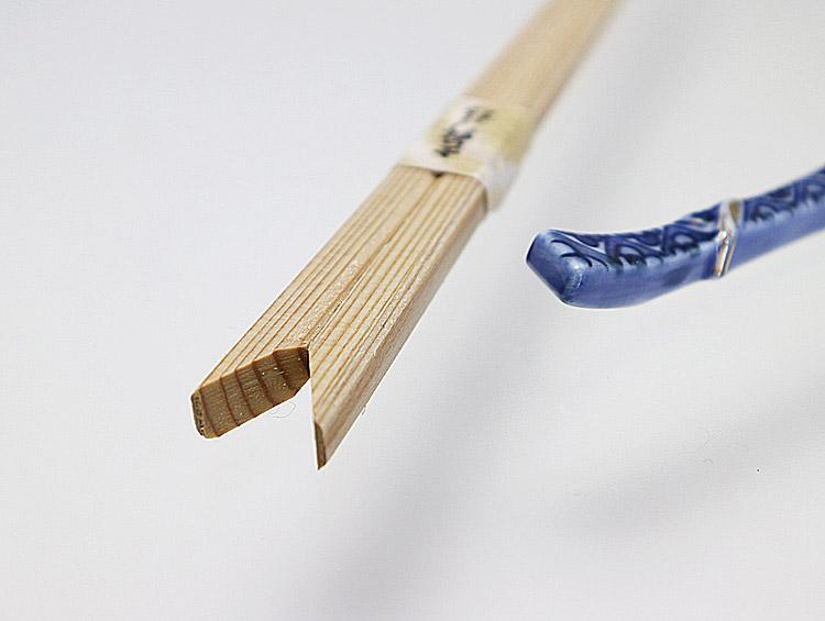 矢形箸24cm 吉野杉箸 柾目九寸 矢形100膳 ■大月商店