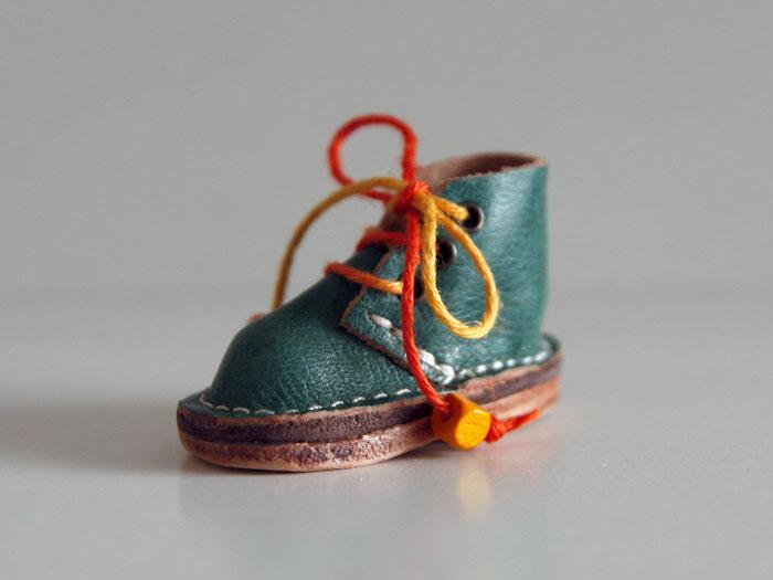 くつ チャーム バックチャーム 携帯ストラップ キーホルダー 本革 レザーチャーム 「かわいい靴のチャーム」 ■M'z