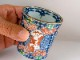 京焼清水焼 酒グラス 赤絵山水祥瑞(あかえさんすいしょんずい)酒グラス ■加藤雲泉