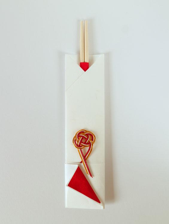 祝箸 祝い箸・箸紙・水引箸置き 5組 ■大月商店