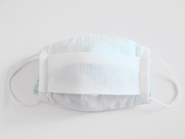 高島縮の手作りマスク・カバー ■M'z