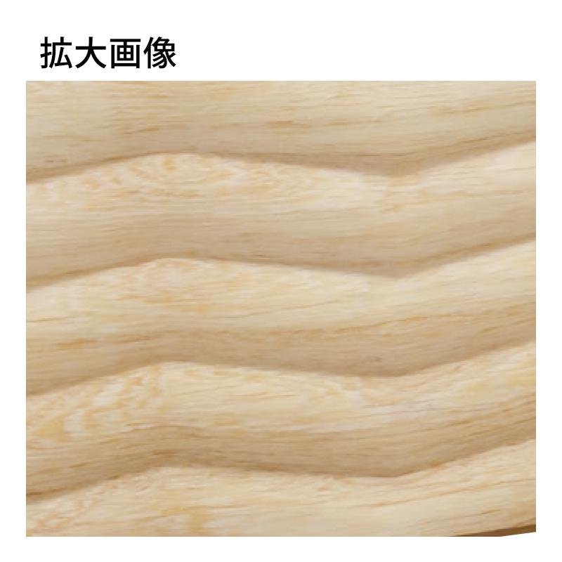 WWA42113AY:木製ウェーブモール 135×3650mm (D21)