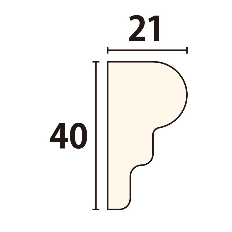 YR150E75:ユミアール E型 [40×21] 750×200mm (アユース)
