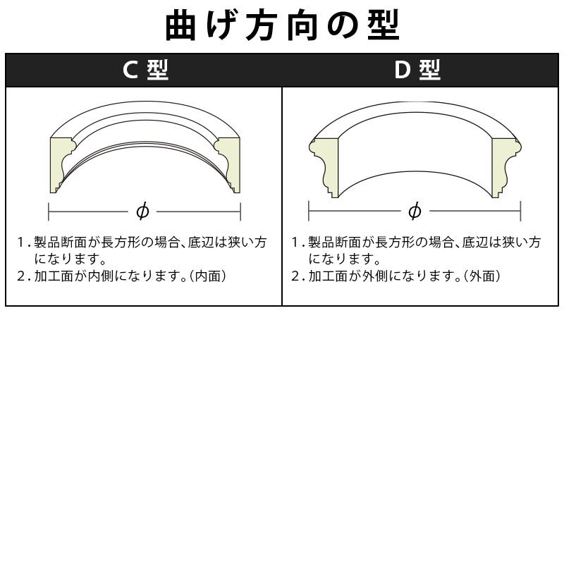FL557L10:フレキサンメント [45×6] 10000mm (軟質ポリ塩化ビニル)
