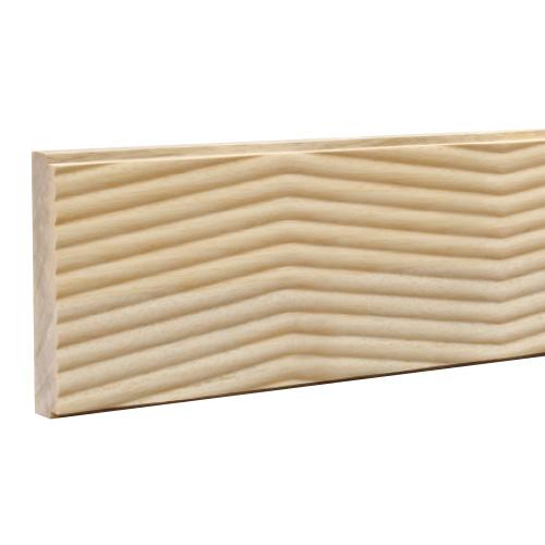 WWA12113AY:木製ウェーブモール 135×3650mm (D21)