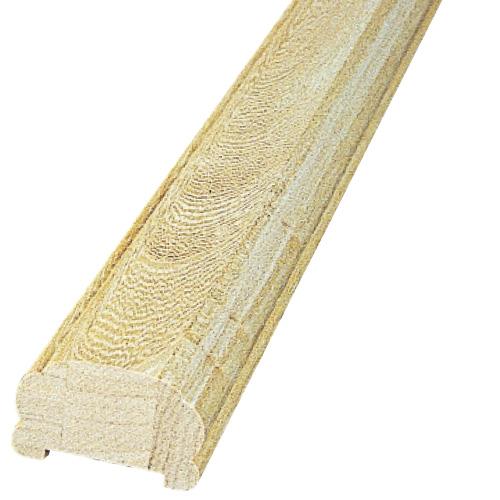 PH67F45:木製サンピューラ/手すり 42×67×3650mm (ホワイトチェリーオーク)