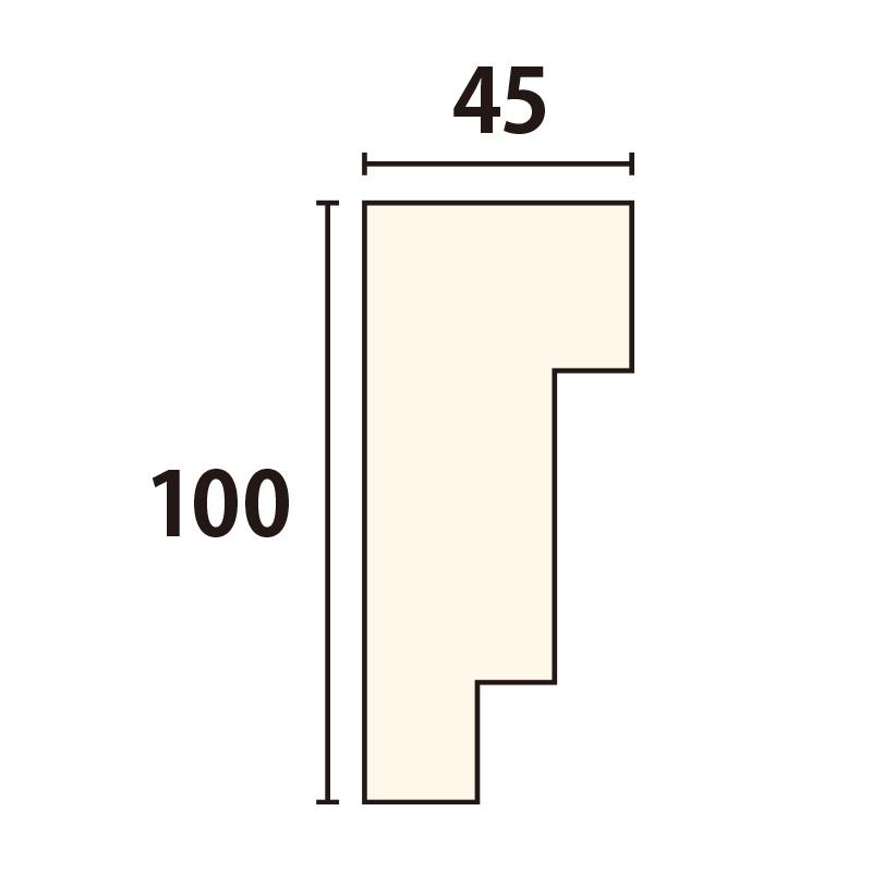 SLA102:サンライトモール [100×45] 1980mm (発泡スチロール)