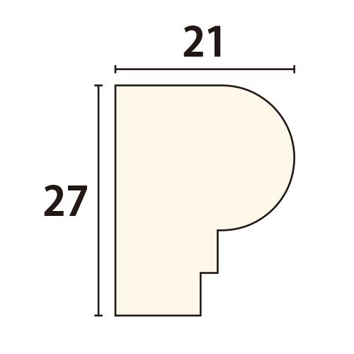 AT149BAY:早技サンメント 出隅材 [27×21] (アユース)