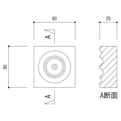 ABL20AY:早技サンメント 60×60×25mm (ブロック材)