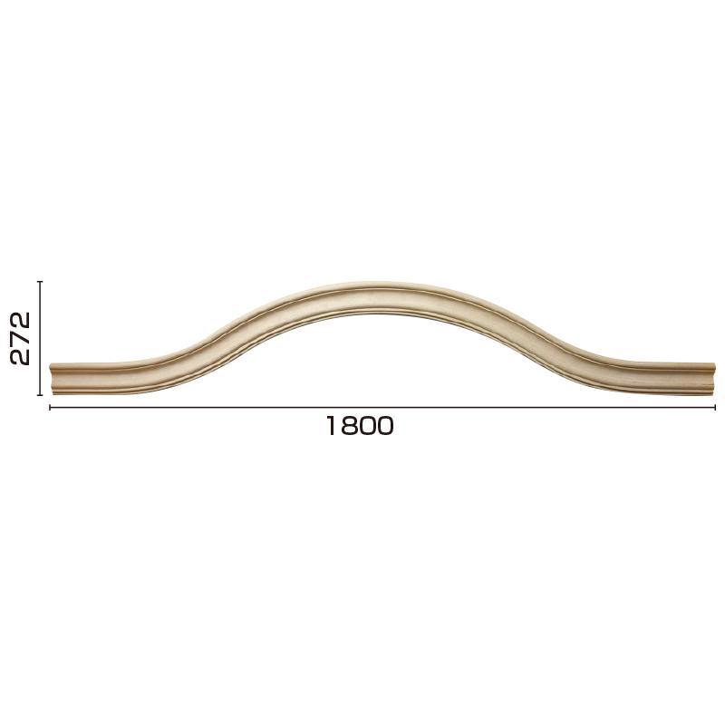 YR181C180:ユミアール C型 [60×120] 1800×272mm (アユース)