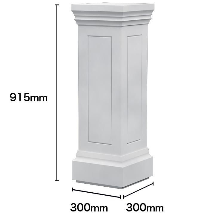 【NGRC001】ゴールデンモール セメント製装飾用手すり親柱 915×300×300mm