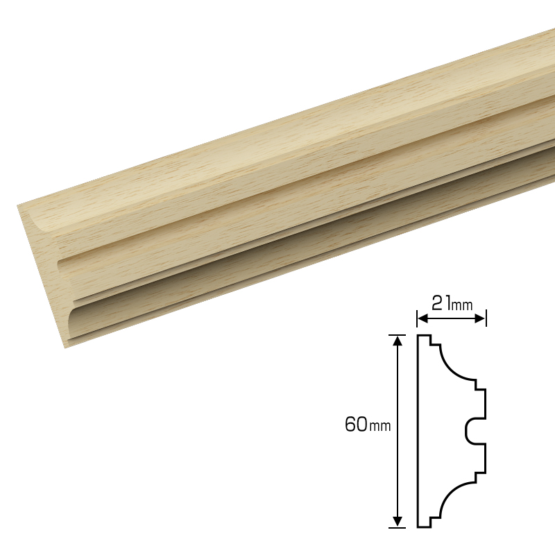 70%割引アウトレット 木製モールディング 3500mm [NV104-2AYB]
