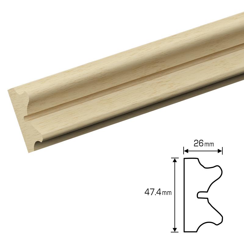 70%割引アウトレット 木製モールディング 3500mm [NV432AYB]