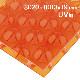 60%割引 ポリカーボネイトパネル オレンジ半透明・艶あり UV加工 3020×1000×19mm [NCB3019OR] ※アウトレット在庫限り