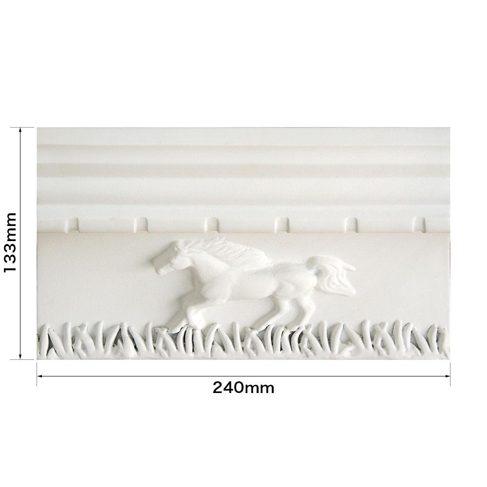 ゴルパ 壁面パネル FRP製 縦・横・最大奥行:133×240×153mm 【NGPMA3D】