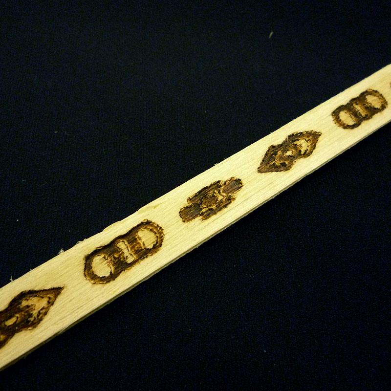 【NSLM006M】サンスライト(高さ・厚み・長さ 13×2×2100mm)モールディング 天然木製 ※完売販売終了20200422