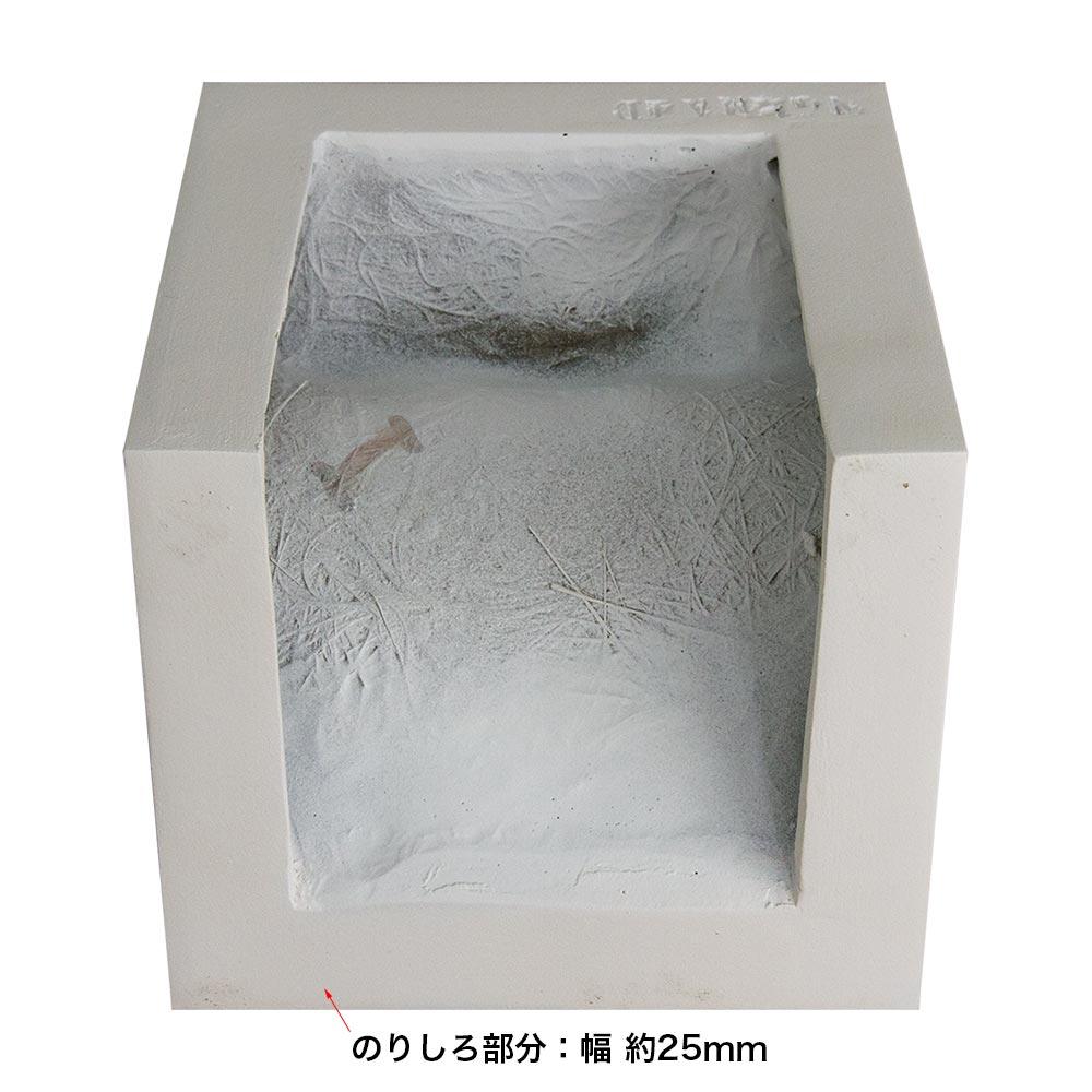 ゴルパ 壁面パネル FRP製 縦・横・最大奥行:133×150×154mm 【NGPMA4D】