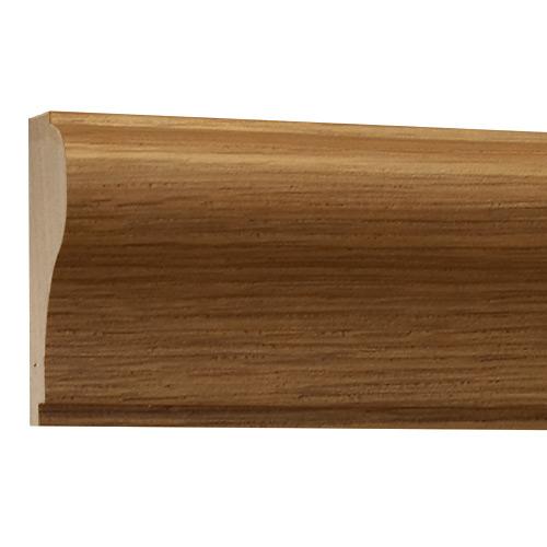 10%割引アウトレット モールディング 木製/表面シートラッピング 廻り縁・チェアレール ビーチ杢色 60×30×3600mm [NRWR170B]