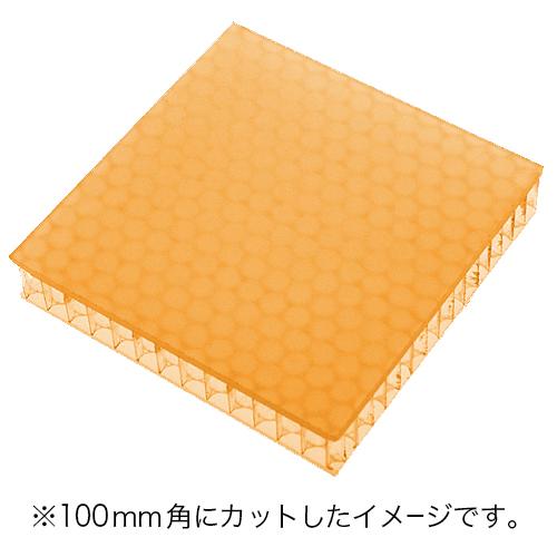 60%割引 アクリル樹脂+ポリカーボネイトパネル オレンジ半透明・艶なし UV加工 3020×1000×19mm [NAB4019OR] ※アウトレット在庫限り