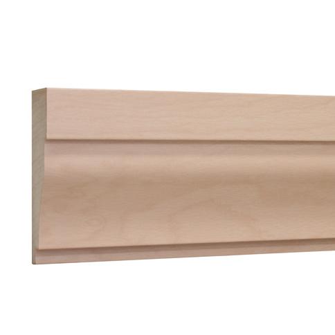 10%割引アウトレット モールディング 木製/表面シートラッピング 廻り縁・チェアレール ビーチ杢色 120×40×3600mm [NRWR663B]
