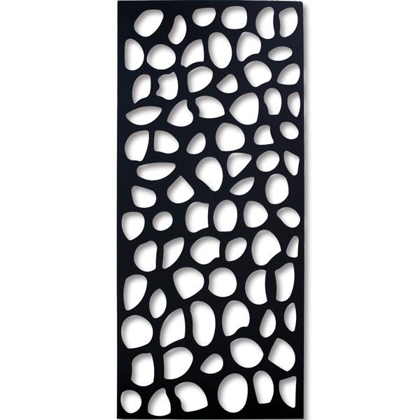 NAP006-2 スチール製デザインパネル 装飾パネル 木漏れ日(大サイズ) 1600×700×50mm 板厚み2mm