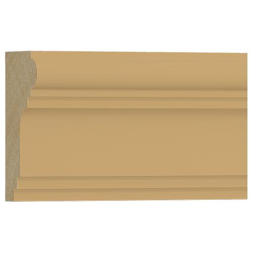 10%割引アウトレット モールディング 木製/表面シートラッピング 廻り縁・チェアレール ビーチ杢色 60×30×3600mm [NRWR194B]