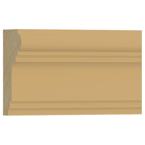 10%割引アウトレット モールディング 木製/表面シートラッピング 廻り縁・チェアレール ビーチ杢色 120×60×3600mm [NRWR196B]