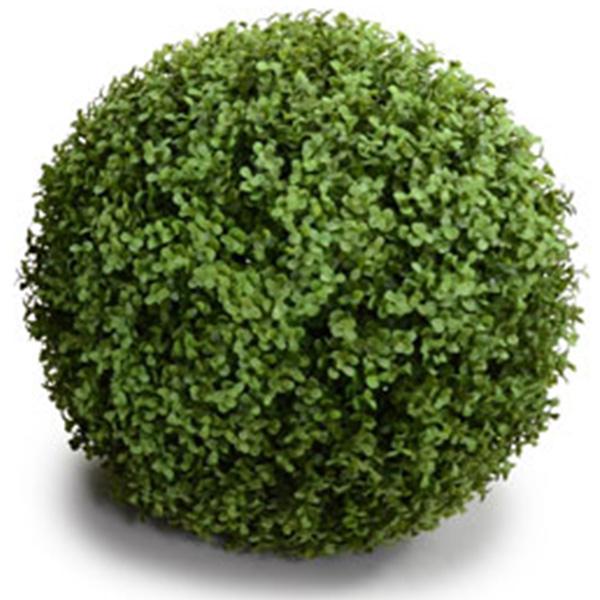 NIG601M|フェイクグリーンボール 人工観葉植物 ツゲ 直径38cm