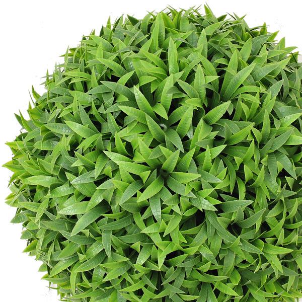 NIG608XS|フェイクグリーンボール 人工観葉植物 太陽草 直径21cm