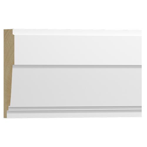 10%割引アウトレット モールディング 木製/表面シートラッピング 廻り縁・チェアレール メイプル色 90×28×3600mm [NRWR666A]