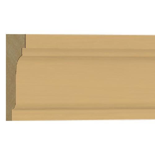 10%割引アウトレット モールディング 木製/表面シートラッピング 廻り縁・チェアレール ビーチ杢色  60×30×3600mm [NRWR204B]